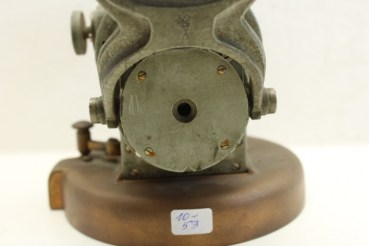 Company Anschütz & Co compass visor (bearing diopter) of the German Navy, bearing attachment for a bridge daughter display