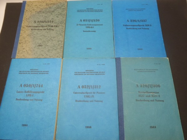 6 NVA service regulations - gyrocompass, distance measuring device, etc.